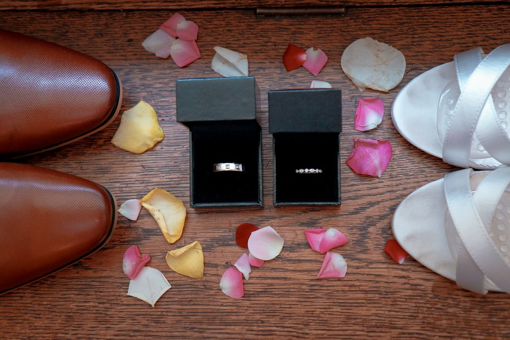 Shoes and Rings | Astra Bride Jessica