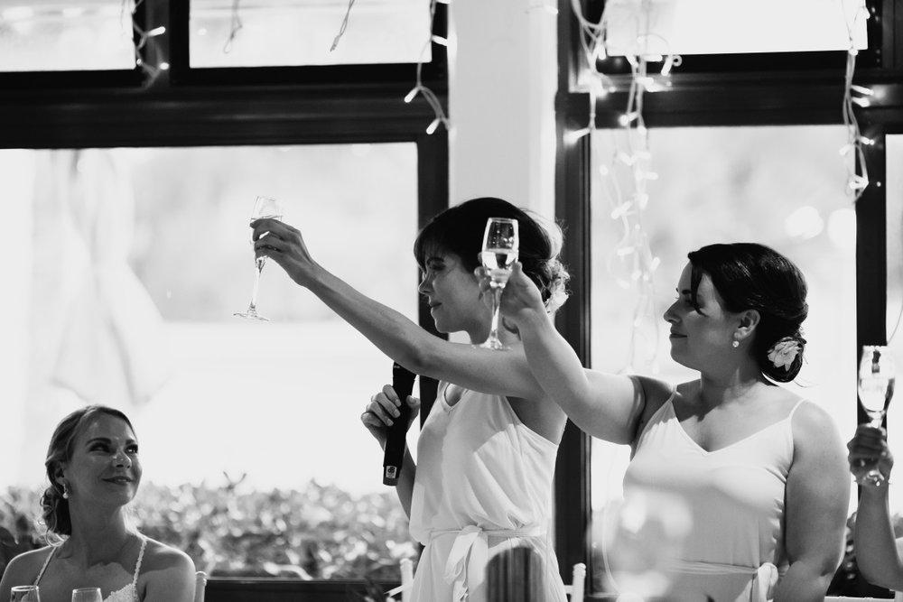 Bridesmaids | Astra Bridal | Sottery & Midgley | Muri Beach Club Hotel | Alex King Photography
