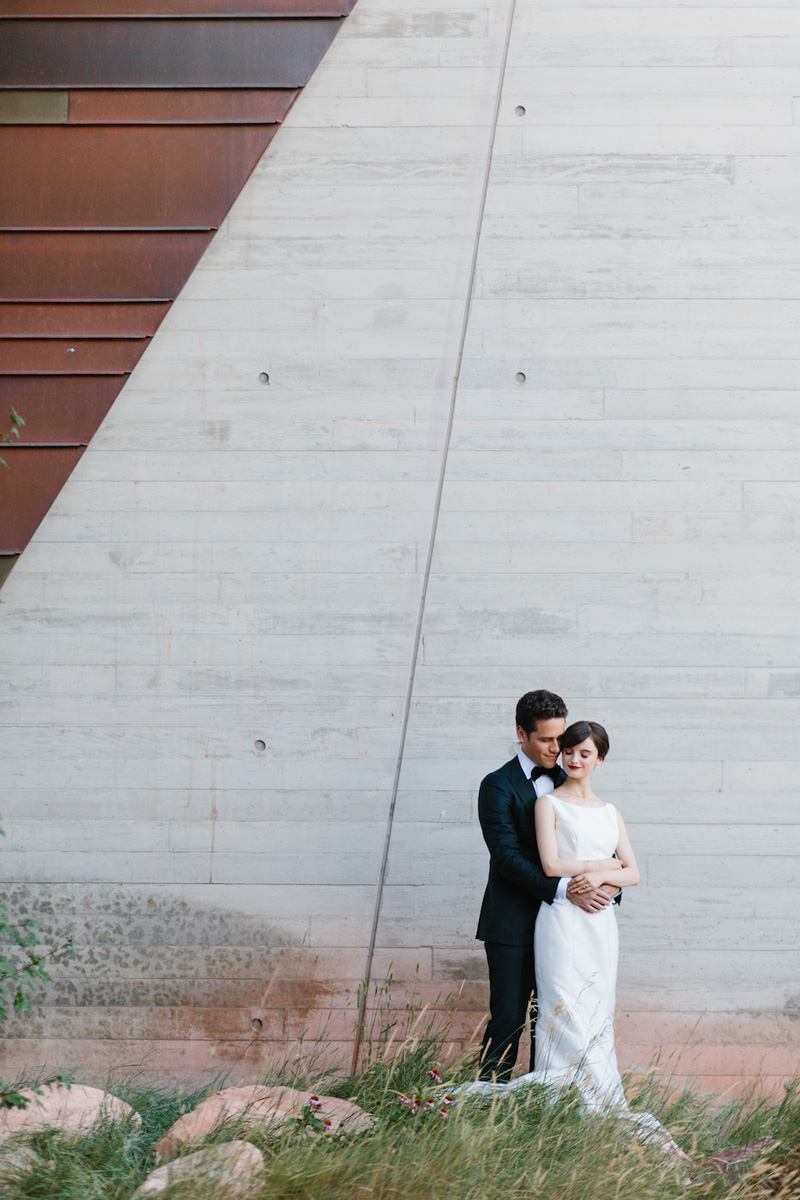 - The design for this shoot, created by Joseph Urankar of Vivince, was subdued as to not detract from the beauty of the space; the Museum of Natural History of Utah. Its modern and eye-catching architecture make it an ideal place for weddings and ceremonies. The Maggie Sottero …… gown was such a perfect choice, with its clean, sculptural design and stunning Mikado fabric, it reflected the modern surroundings beautifully. Photographer Kate Osborne captured every detail in perfect tune with the feel of the design.