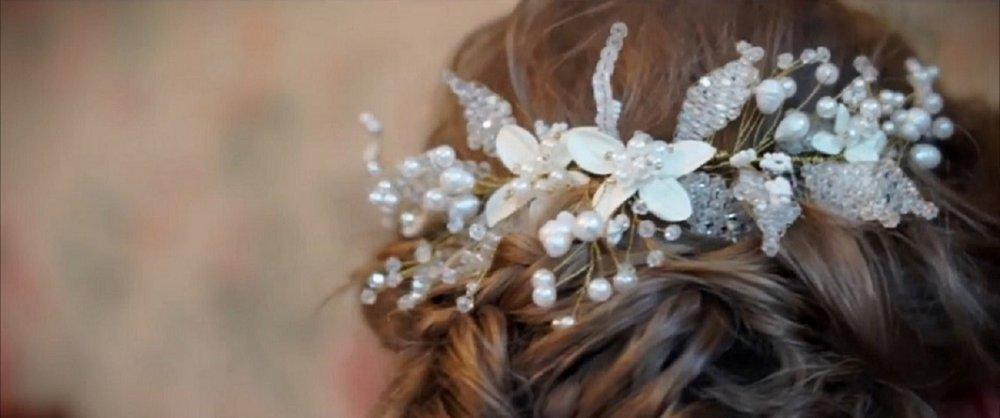 Hand Made Hairpiece | Astra Bride Jessica