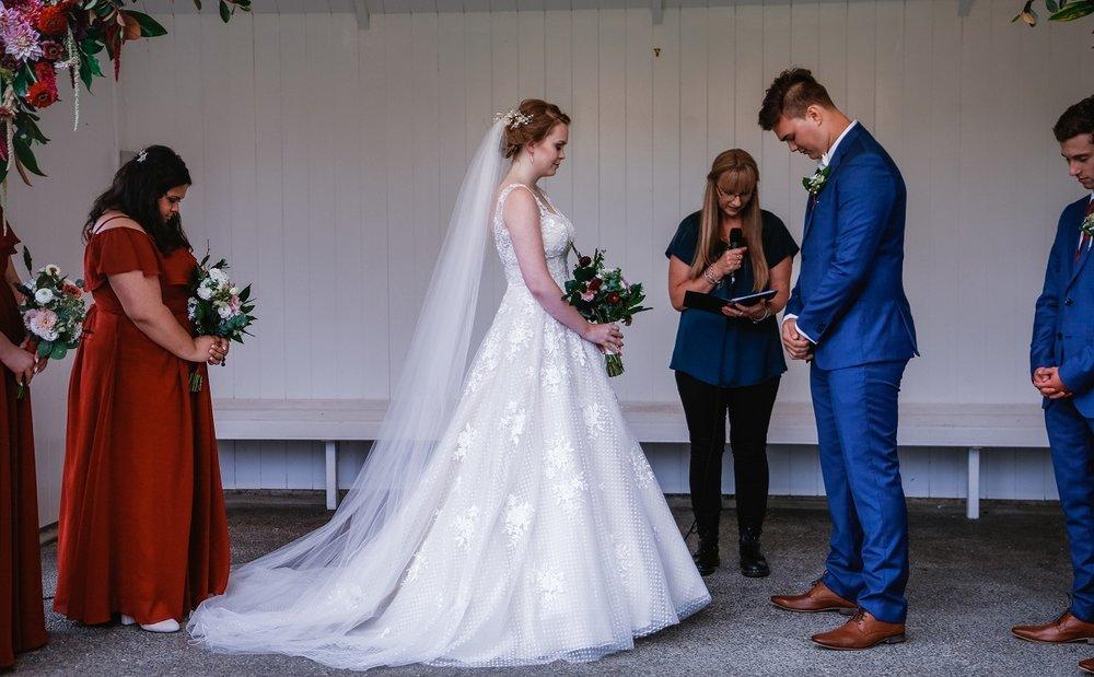 Wedding Ceremony | Astra Bride Jessica