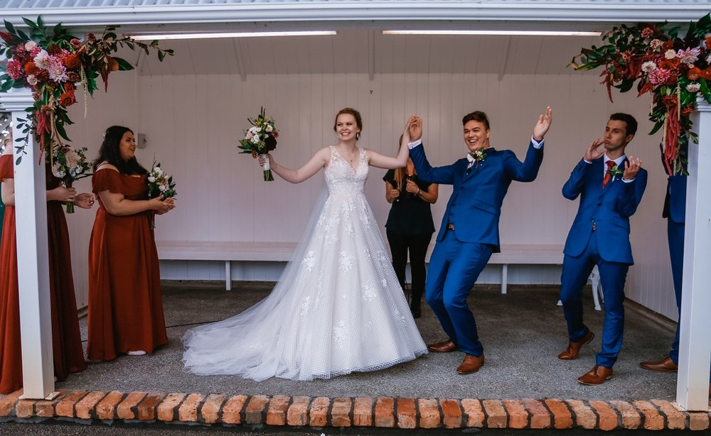 We're Married | Astra Bride Jessica