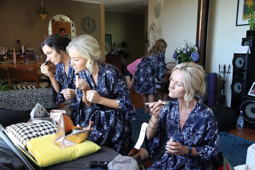 Bridesmaid Makeup | Astra Bridal | Maggie Sottero | Alisha Taylor Photography