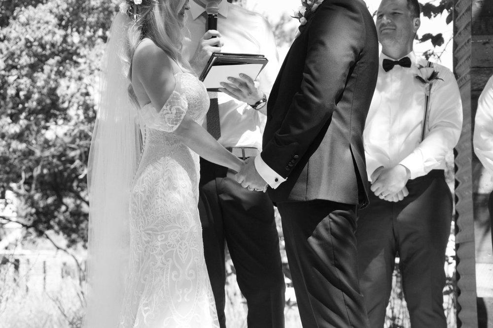 Drop Shoulder Wedding Gown | Astra Bridal | Maggie Sottero | Alisha Taylor Photography