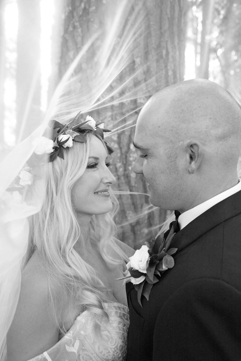 Tulle Veil | Astra Bridal | Maggie Sottero | Alisha Taylor Photography