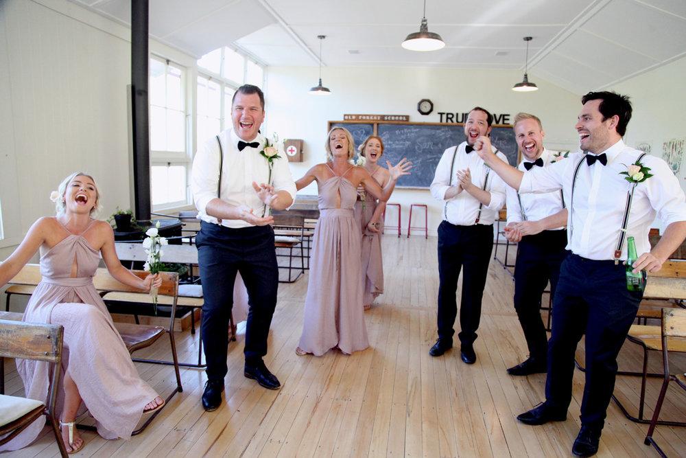 Blush Bridesmaids | Astra Bridal | Maggie Sottero | Alisha Taylor Photography