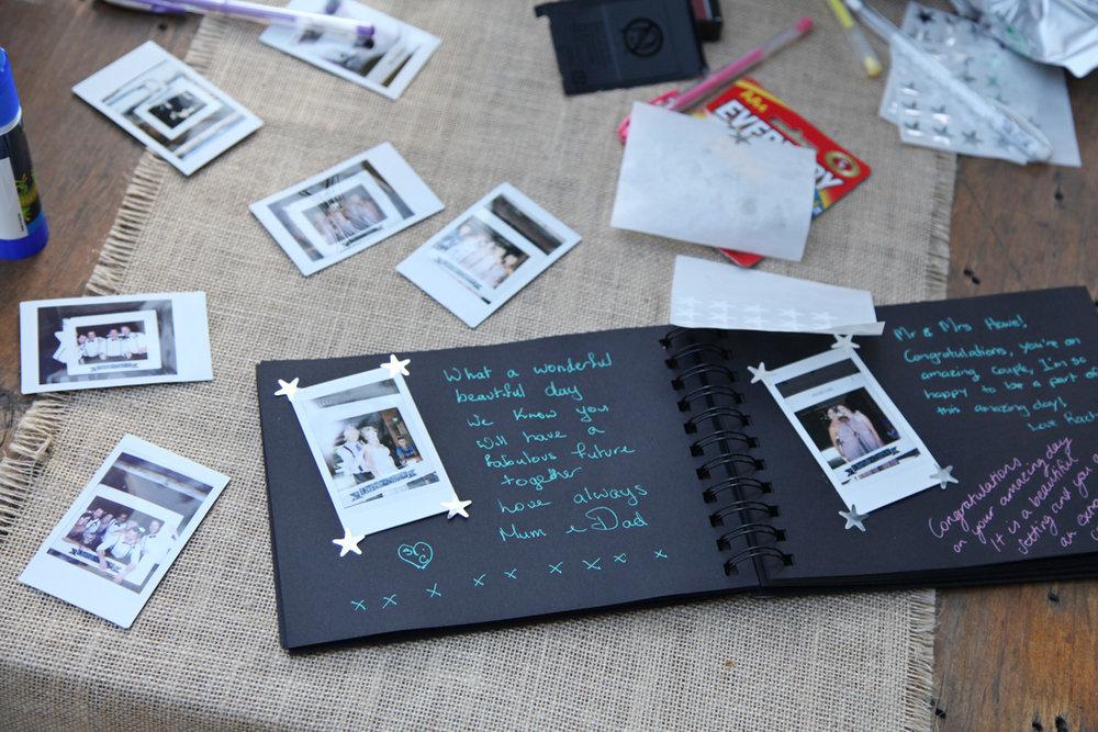 Polaroid Album | Astra Bridal | Maggie Sottero | Alisha Taylor Photography