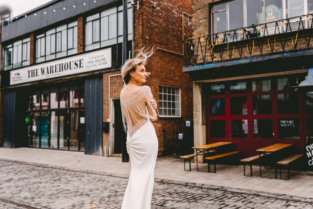 Industrial Bride | | Butler Whites Venue | Astra Bridal | Sottero & Midgley – Liam| Jemma King Photography