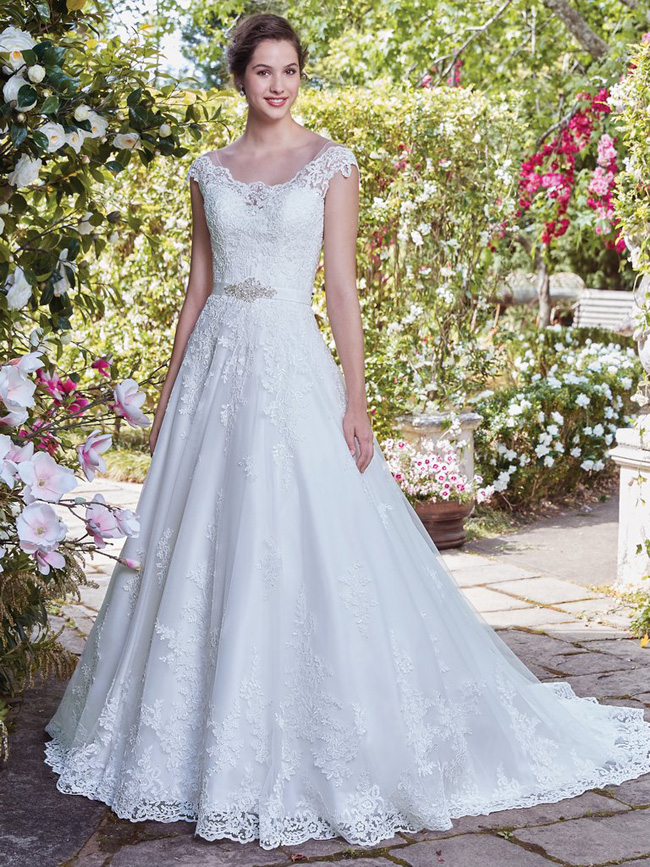 Get The Look...  - If you loved Ashlee's delicate lace ball gown by Bonny Bridal, click the link below to make an appointment at your nearest Astra Bridal to come and try it on!