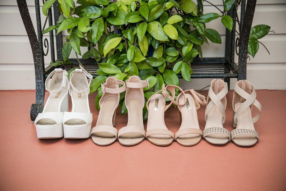 Wedding Shoes | Garden Wedding | Astra Bridal | Bonny Bridal | Sandra Henderson Photography