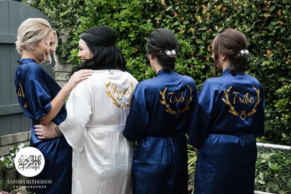 Bridesmaids | Garden Wedding | Astra Bridal | Bonny Bridal | Sandra Henderson Photography