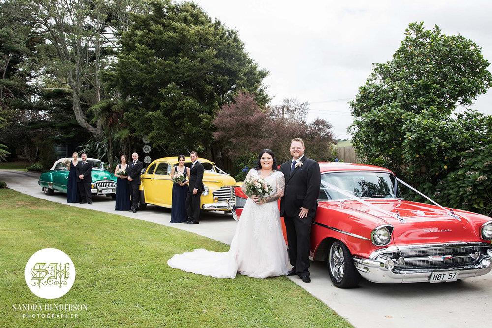 Classic Wedding Cars | Garden Wedding | Astra Bridal | Bonny Bridal | Sandra Henderson Photography