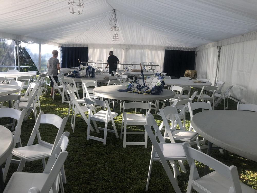 Wedding Tent | Garden Wedding | Astra Bridal | Bonny Bridal | Sandra Henderson Photography