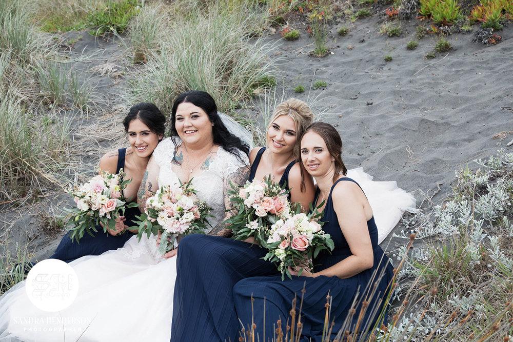 Beach Wedding Shoot | Garden Wedding | Astra Bridal | Bonny Bridal | Sandra Henderson Photography