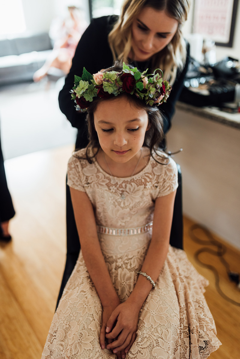 Flower Girl | Garden Wedding | Astra Bridal | Sottero & Midgley – Bexley | Gemma Flay Photography