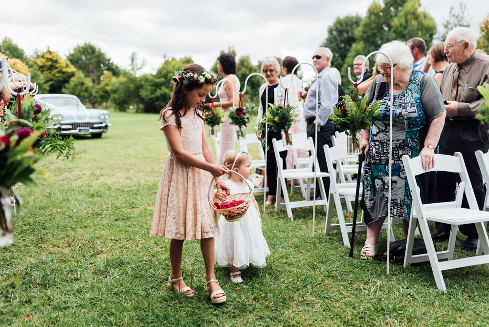 Flower girls | Garden Wedding | Astra Bridal | Sottero & Midgley – Bexley | Gemma Flay Photography