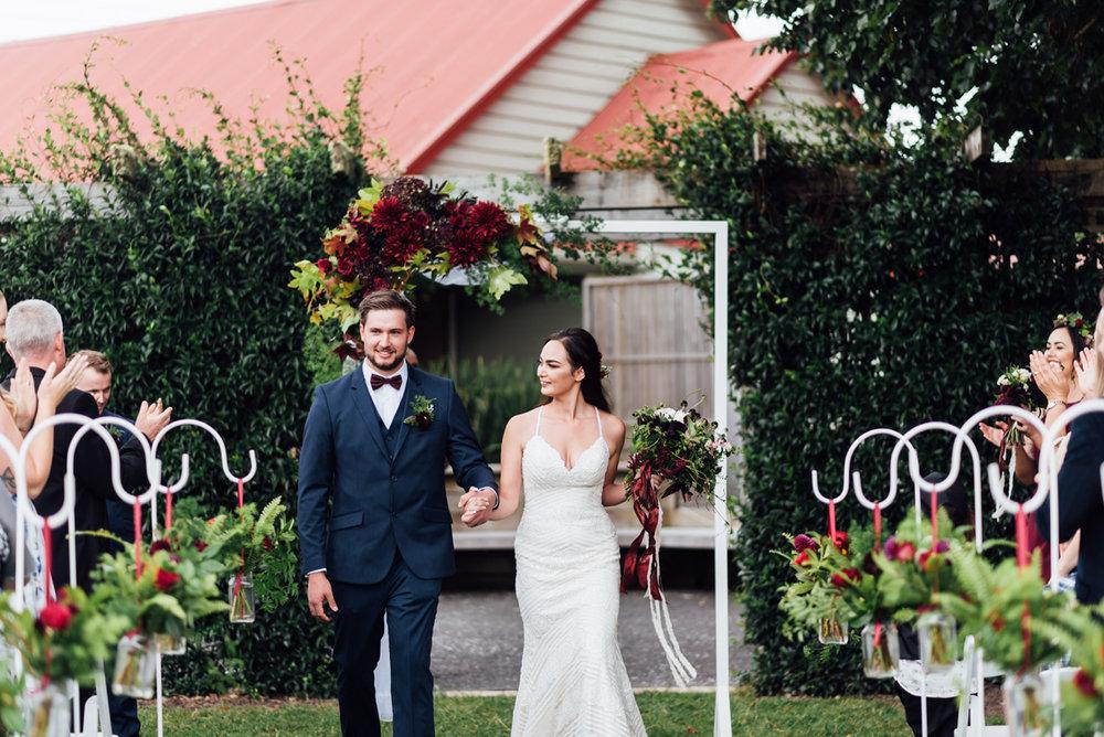 Garden Aisle | Garden Wedding | Astra Bridal | Sottero & Midgley – Bexley | Gemma Flay Photography