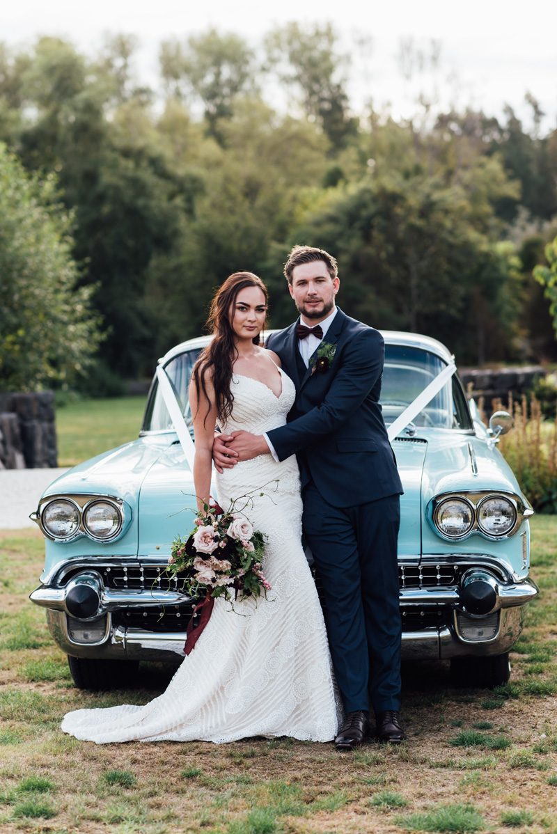 Classic Car | Garden Wedding | Astra Bridal | Sottero & Midgley – Bexley | Gemma Flay Photography