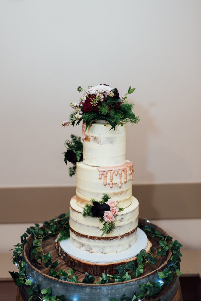 Dripping Wedding Cake | Garden Wedding | Astra Bridal | Sottero & Midgley – Bexley | Gemma Flay Photography