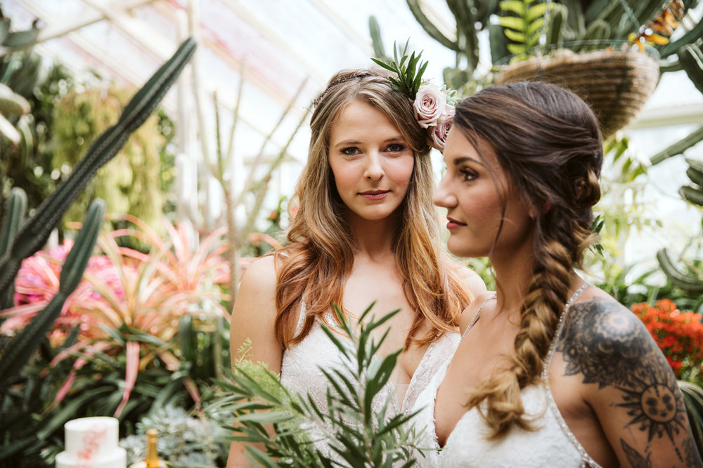 Brides | Same Sex Styled Shoot | Astra Bridal | Maggie Sottero | Marys Bridal | Sweet Events Photography