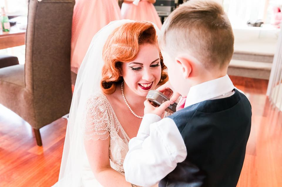 The Bride and her Best Boy | Astra Bride Camille