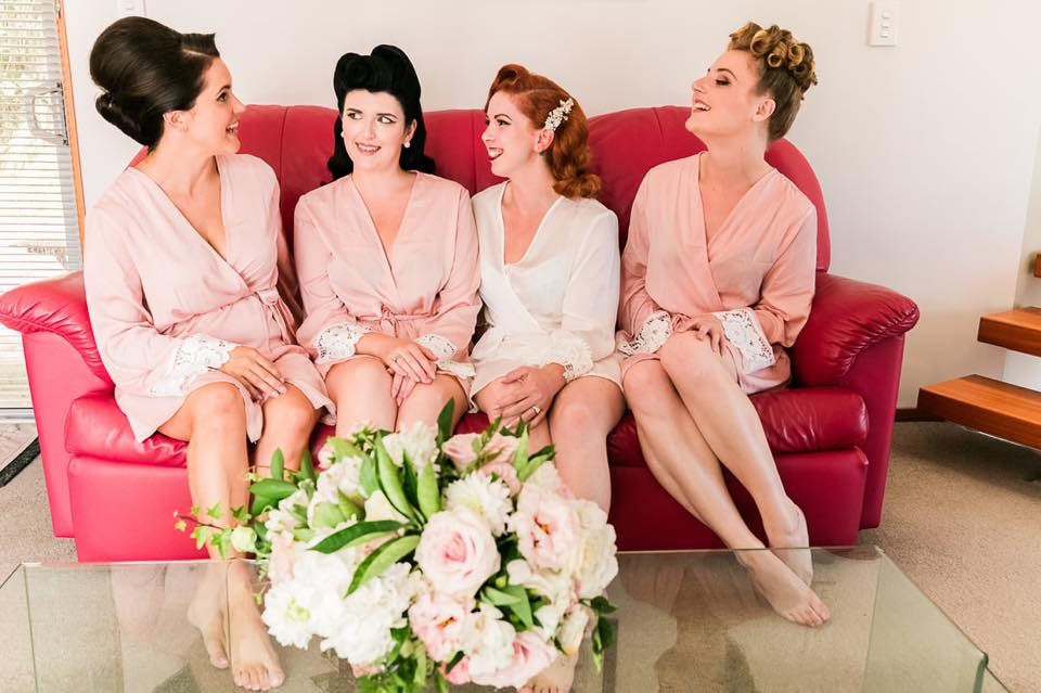 The Bride & Her Maids | Astra Bride Camille
