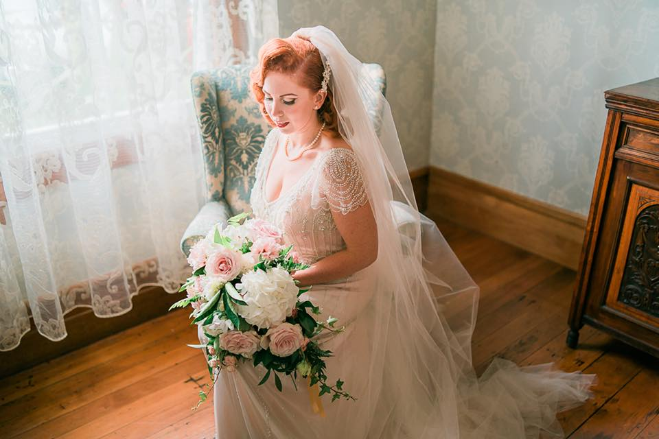 The Dress - I found my gown, the Ettia by Maggie Sottero, really far out from the wedding. I just loved the absolutely exquisite beading!