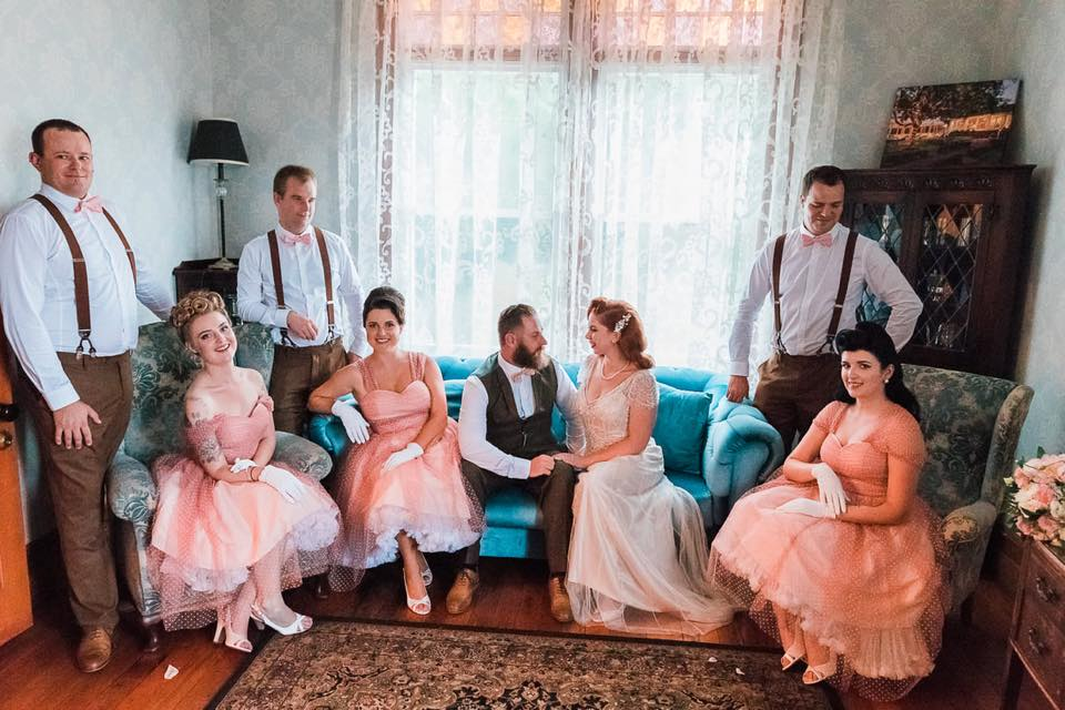 The Bridal Party | Astra Bride Camille