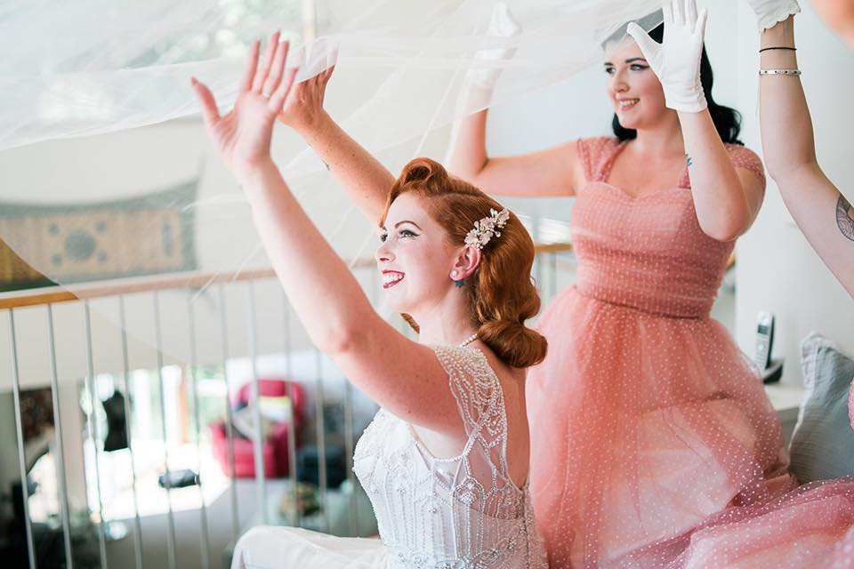 Fun with the Veil | Astra Bride Camille