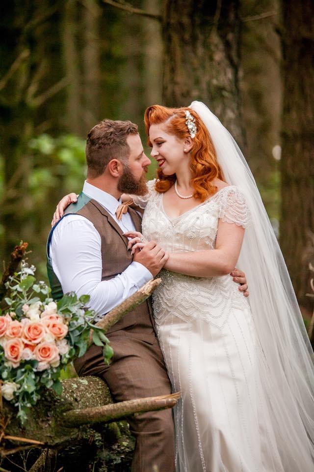 Wedding Day quiet moment | Astra Bride Camille