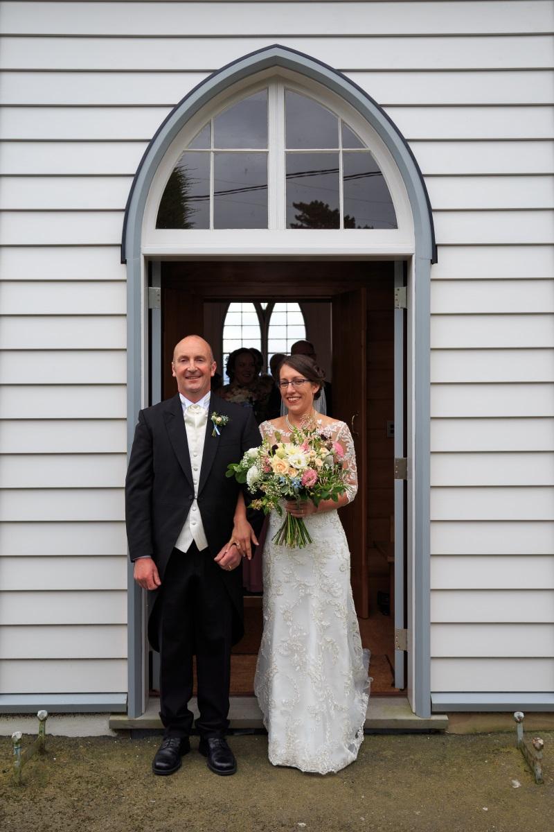 Soft A-line Wedding Dress | Maggie Sottero | Astra Bridal | Vintage Wedding | Larnach Castle | Vanessa Adcock Photography