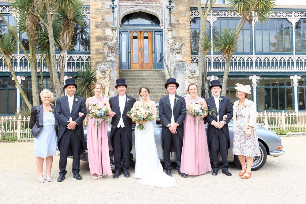 Vintage Bridal Party | Maggie Sottero | Astra Bridal | Vintage Wedding | Larnach Castle | Vanessa Adcock Photography