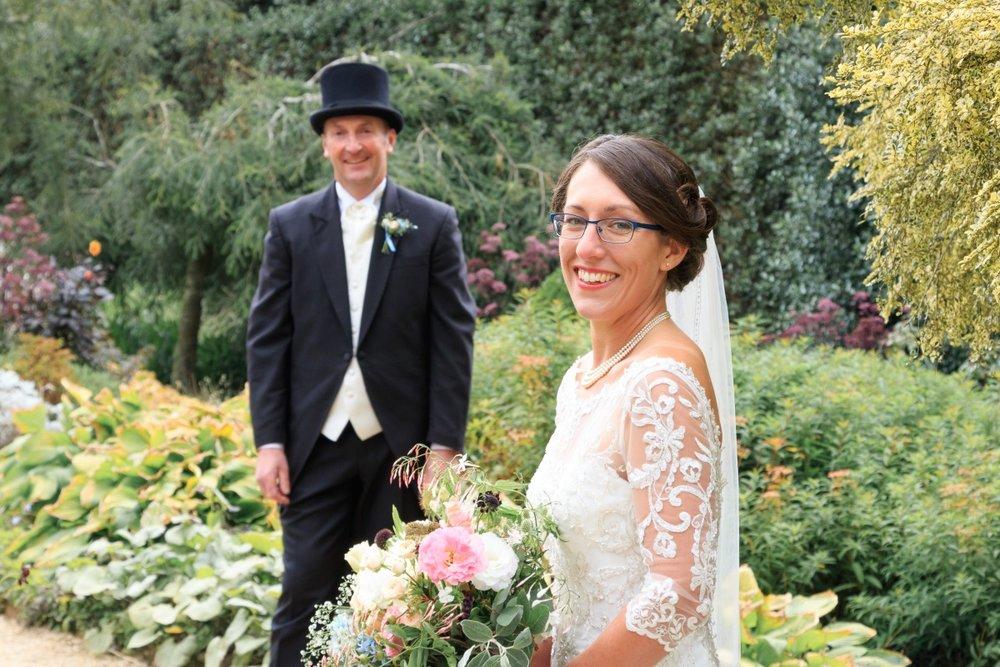 Lace Sleeve Wedding Dress | Maggie Sottero | Astra Bridal | Vintage Wedding | Larnach Castle | Vanessa Adcock Photography