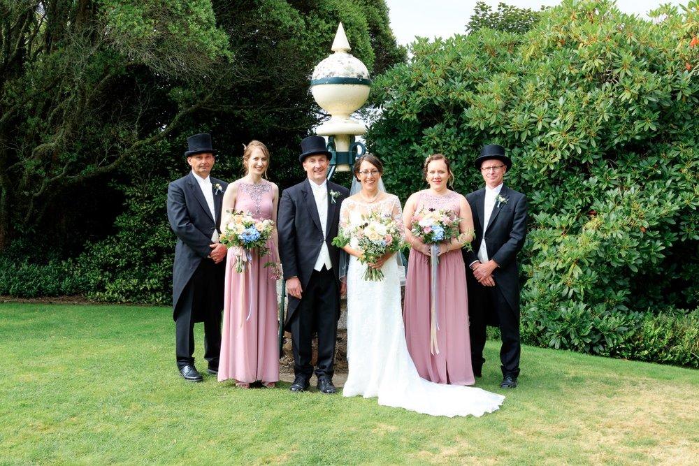 Historic Garden Wedding | Maggie Sottero | Astra Bridal | Vintage Wedding | Larnach Castle | Vanessa Adcock Photography