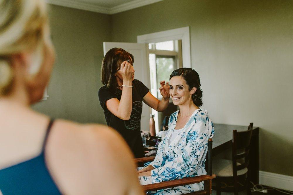 Abbie Hartland Makeup | Essence Bridal | Astra Bridal | Classic Wedding | Daltons Plantation | Ruth Gilmour Photography