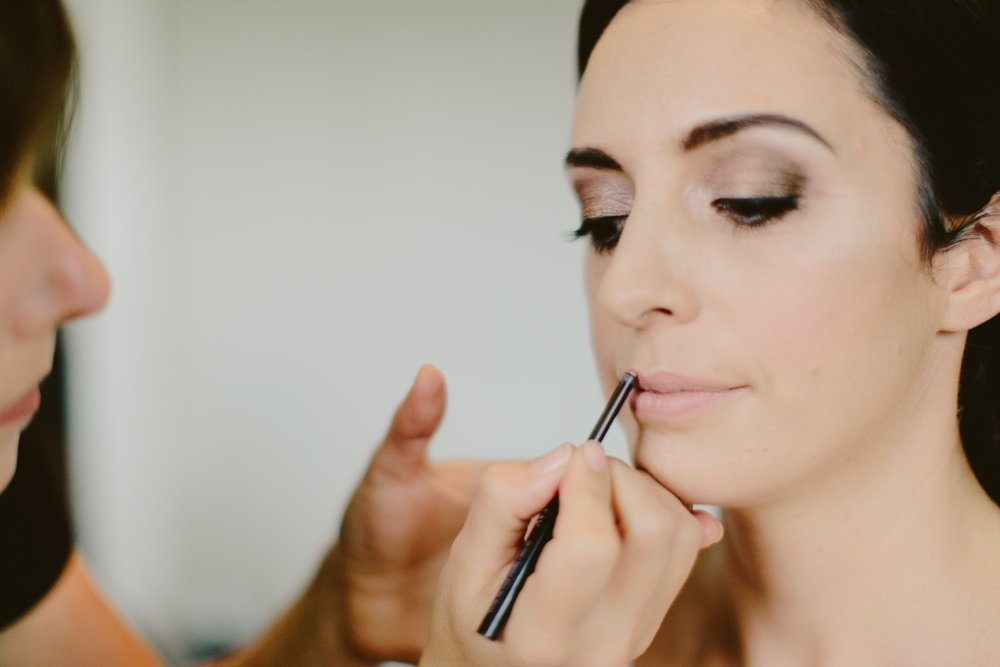 Bridal Makeup | Essence Bridal | Astra Bridal | Classic Wedding | Daltons Plantation | Ruth Gilmour Photography