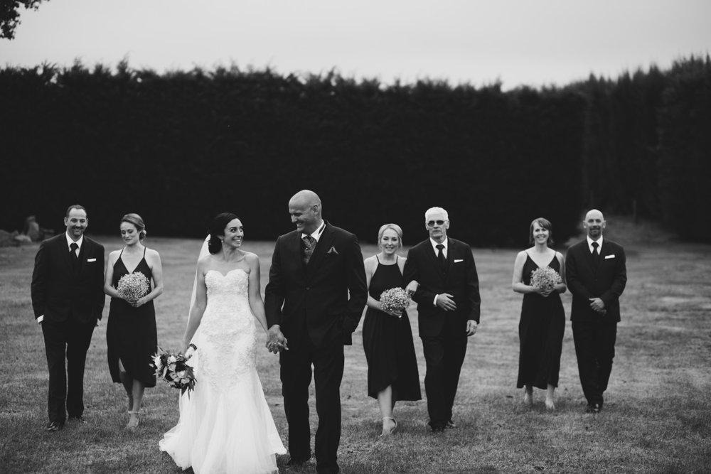 Bridal Party | Essence Bridal | Astra Bridal | Classic Wedding | Daltons Plantation | Ruth Gilmour Photography