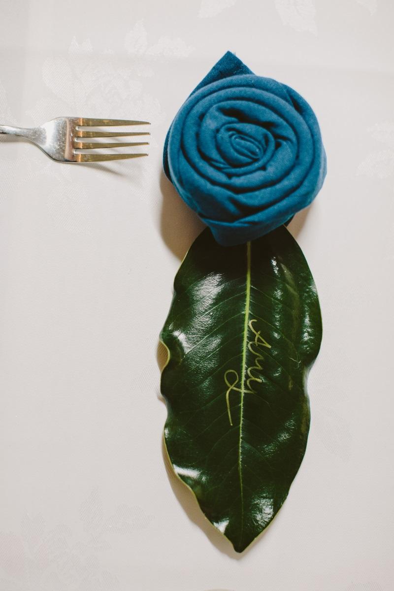 Napkin rose | Essence Bridal | Astra Bridal | Classic Wedding | Daltons Plantation | Ruth Gilmour Photography