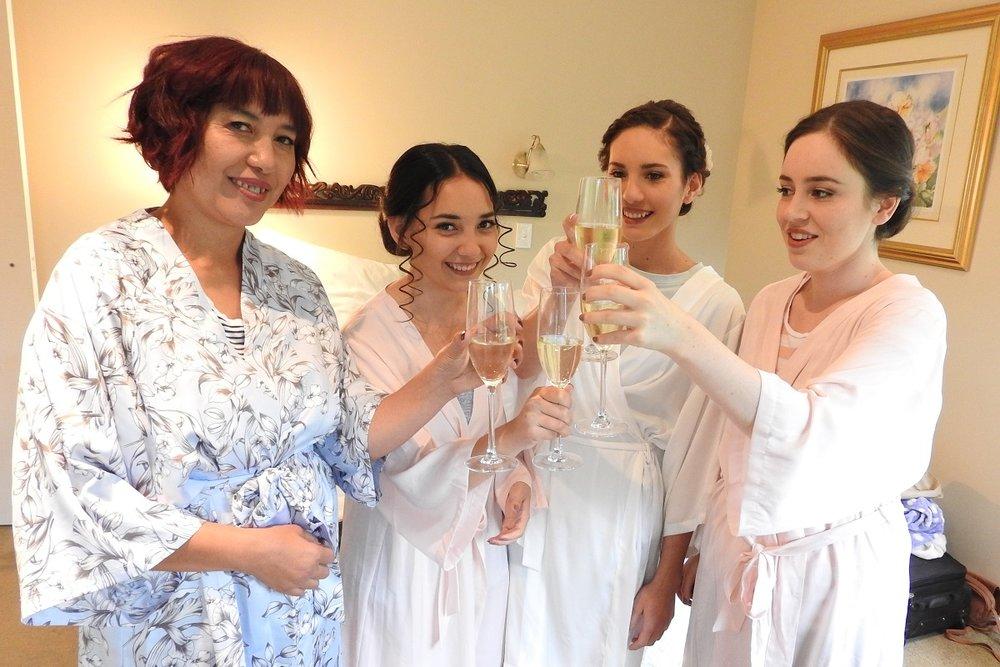 Pre wedding toast | Astra Bride Rebekah