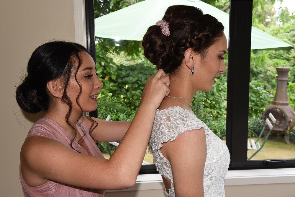 Wedding Day Jewellery | Astra Bride Rebekah