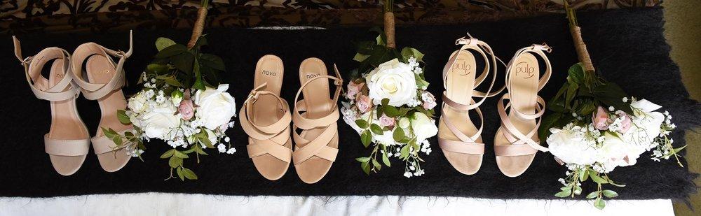 Shoes, shoes, shoes | Astra Bride Rebekah