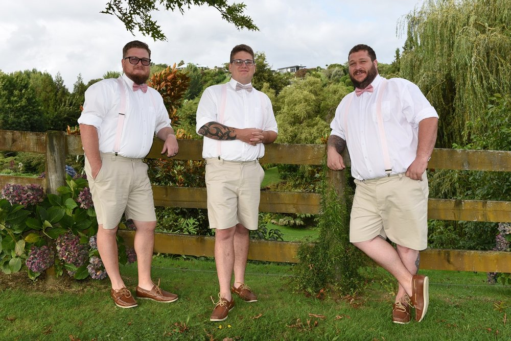 Groom & Groomsmen are ready | Astra Bride Rebekah
