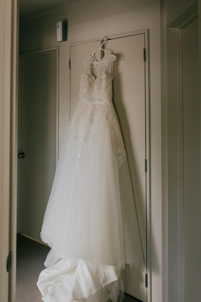 Wedding Dress | Bonny Bridal | Astra Bridal | Classic Wedding | Huka Falls Resort | Jessica Lee Photography
