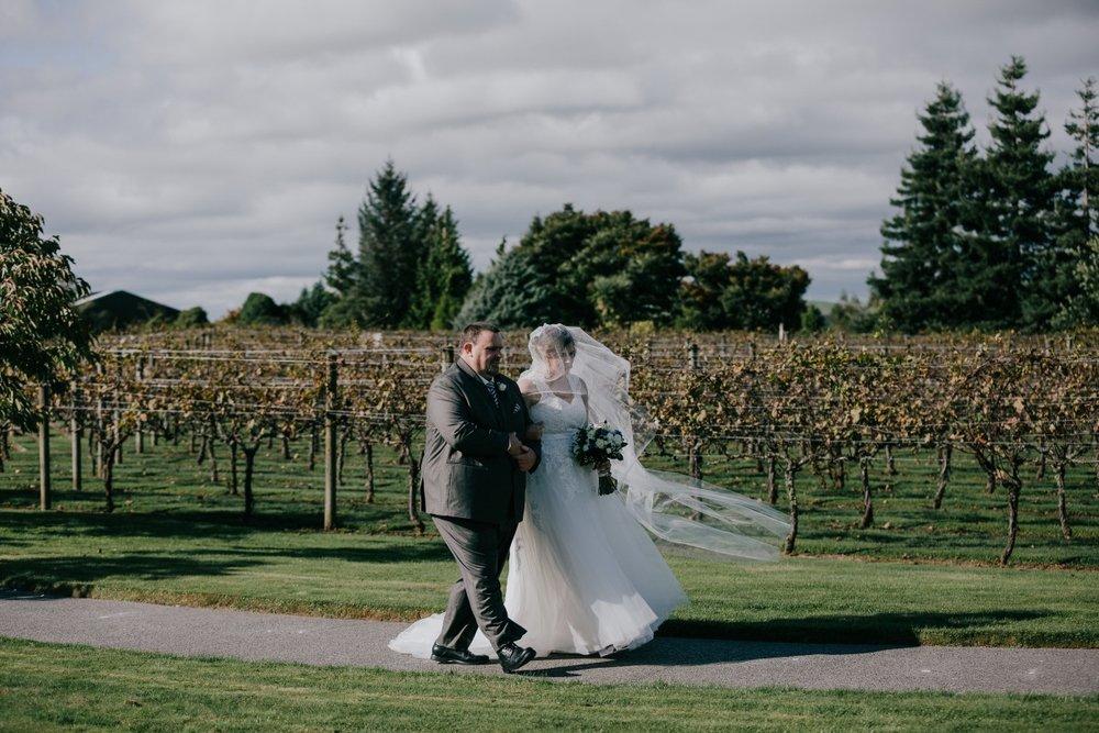 Vinyard Wedding | Bonny Bridal | Astra Bridal | Classic Wedding | Huka Falls Resort | Jessica Lee Photography