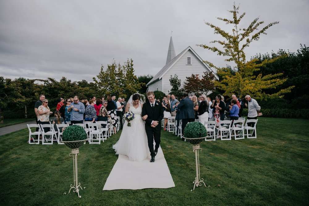 Wedding Aisle | Bonny Bridal | Astra Bridal | Classic Wedding | Huka Falls Resort | Jessica Lee Photography
