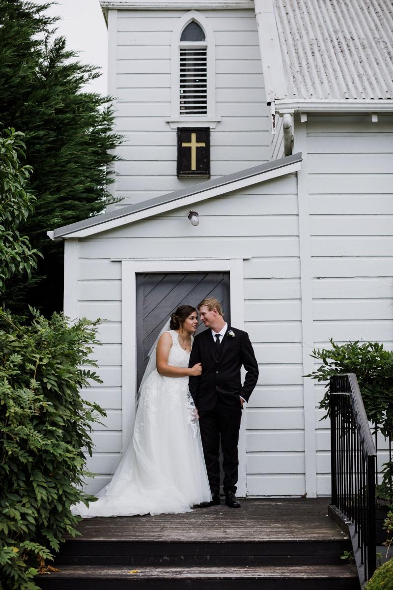 Chapel Steps | Bonny Bridal | Astra Bridal | Classic Wedding | Huka Falls Resort | Jessica Lee Photography