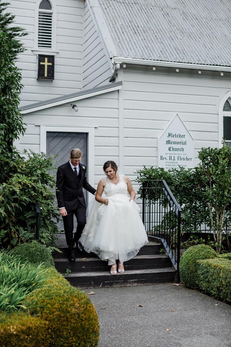 Wedding Chapel | Bonny Bridal | Astra Bridal | Classic Wedding | Huka Falls Resort | Jessica Lee Photography