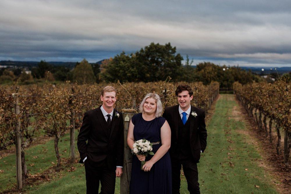 Navy Bridesmaid | Bonny Bridal | Astra Bridal | Classic Wedding | Huka Falls Resort | Jessica Lee Photography