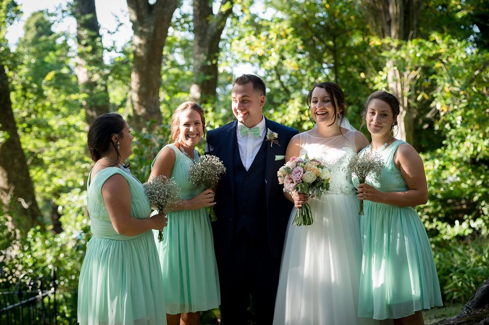 Bride, Groom & Bridesmaids | Astra Bride Olivia