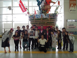 GT Students arrive at Fukuoka airport